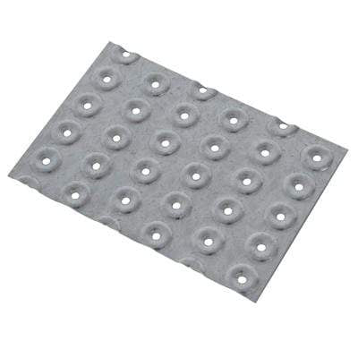 Galvanised Hand Nail Plates (Pack of 10) - All Sizes Building Materials