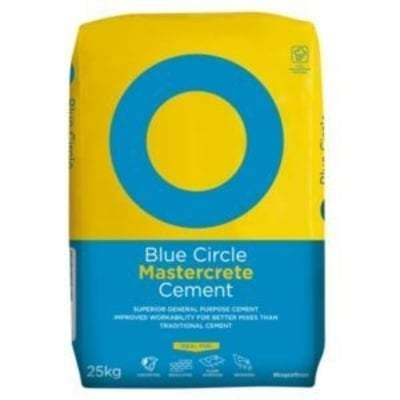 Blue Circle Mastercrete 25 Kg Building Materials