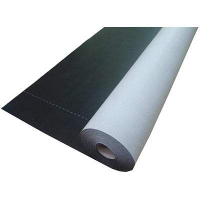 Black Pro Roof and Wall Breather Membrane 1.5m x 50m (75m2 Roll) - Novia Membranes