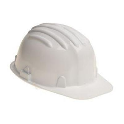 Image of Safety Helmet Standard -White Tools & Workwear