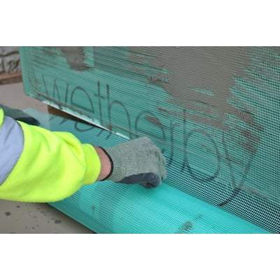 Premium Glass Reinforcing Alkali Resistant Mesh - 50m2 Roll External Wall Insulation