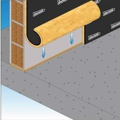 Danosa Acustidan 16/4 Cavity Wall Insulation