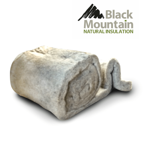 Black Mountain Natuwool Rolls - All Sizes Loft Insulation
