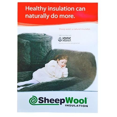 Sheepwool Insulation Optimal Roll - Sample Bundle Floor Insulation