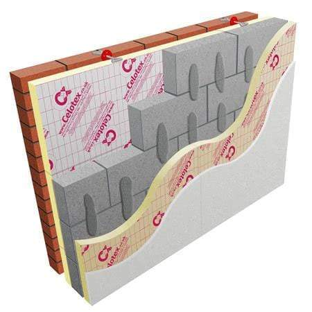 Image of Celotex CW4075 75mm Cavity wall Insulation