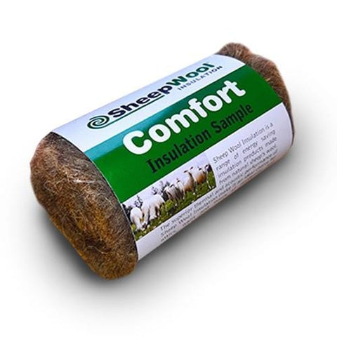 Sheepwool Insulation Comfort Roll - Sample Bundle Floor Insulation