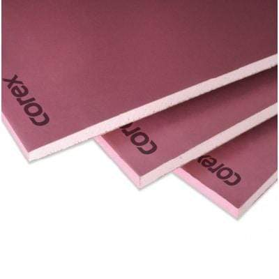 COREX Fire Plasterboard TE 2.4m x 1.2m x 12.5mm (Pallet Of 60 Sheets) 12.5mm (60 Sheets) Insulation Board
