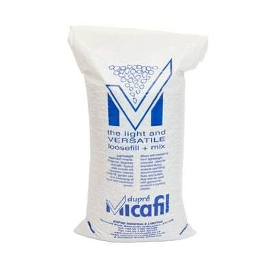 Micafil Vermiculite Loose Fill Loft Insulation (Large Grade) 110 Litre Bag Heating & Plumbing