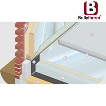 Ballytherm 2.4m x 1.2m - All Sizes Floor Insulation