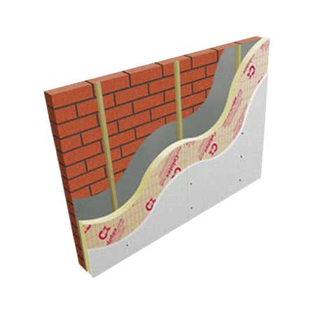 Image of 165mm Celotex XR4165 2.4m x 1.2m Wall Insulation