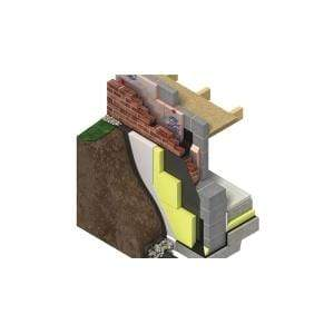 Image of Greenguard (Styrozone) GG300 (1.25m x 0.6m) All Sizes Wall Insulation