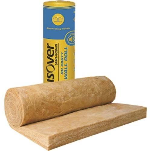 Isover Party Wall Roll 100mm Acoustic Insulation