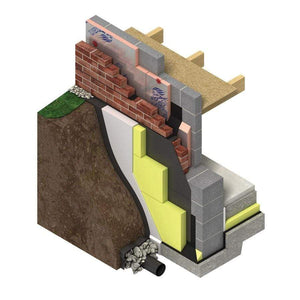 GreenGuard (Styrozone) GG700 600mm x 1250mm - All Sizes Wall Insulation