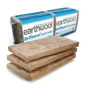 Knauf Earthwool DriTherm 34 (455mm x 1200mm) - All Sizes Cavity wall Insulation