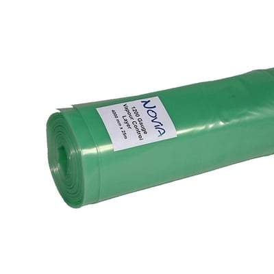 Image of Polythene Vapour Control Layer - All Sizes 1200 Gauge (4m x 25m) Membranes