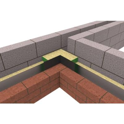 Party Wall DPC L-Shape - All Sizes Fireproof Insulation