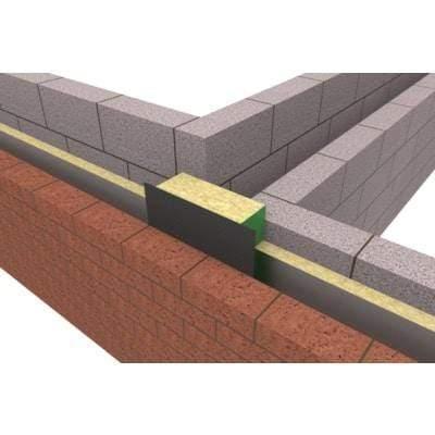 Party Wall DPC Vertical 250mm x 1200mm - All Sizes Fireproof Insulation