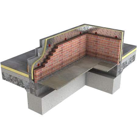Image of Recticel Eurothane Cavitywall - 1.2m x 0.45m (All Sizes) Cavity wall Insulation
