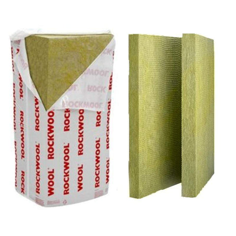 Image of Rockwool RW3 1200mm x 600mm (All Sizes) Cavity wall Insulation