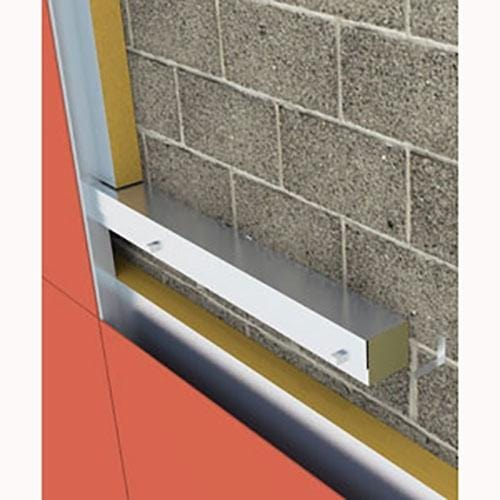 Rainscreen Barrier 1200mm x 100mm - All Sizes Fireproof Insulation