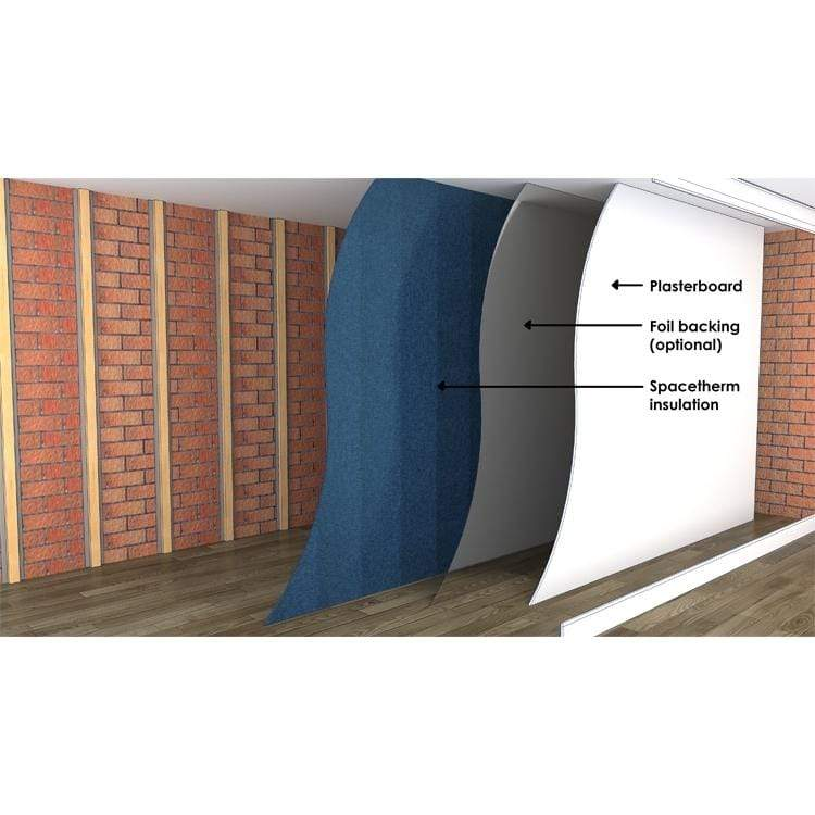 Spacetherm Wallboard 1.2m x 2.4m - All Sizes Wall Insulation