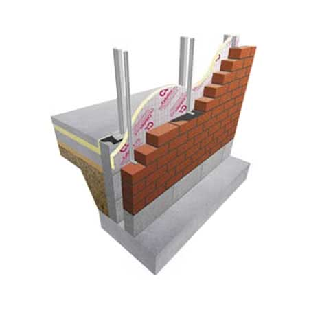 Image of 130mm Celotex XR4130 2.4m x 1.2m Floor Insulation
