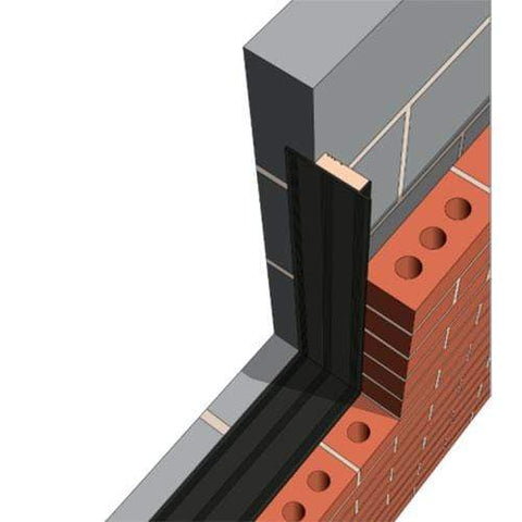 Image of SuperCLOSE XPS Insulated Cavity Closer (20mm - 2.4m) - All Sizes Cavity wall Insulation