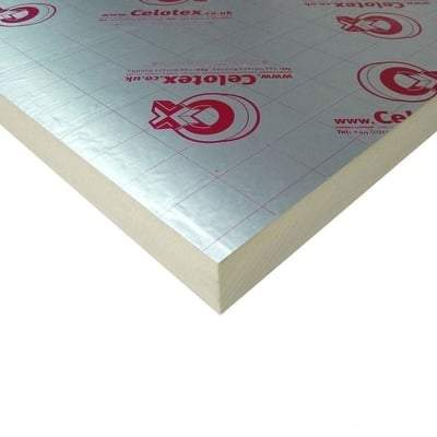 Image of 20mm Celotex TB4020 2.4m x 1.2m Wall Insulation