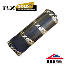Load image into Gallery viewer, Thinsulex TLX Gold Multifoil 1.2m x 10m (12m2 roll) Loft Insulation