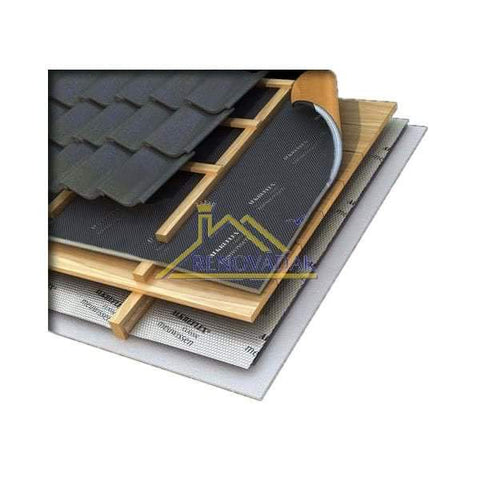 Image of Thinsulex TLX Gold Multifoil 1.2m x 10m (12m2 roll) Loft Insulation