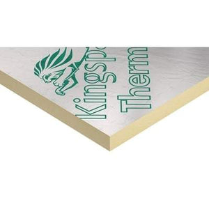 Kingspan Thermawall TW55 Steel/Timber Framing Board 1.2m x 2.4m - All Sizes Wall Insulation