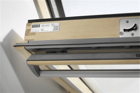 Image of VELUX GGL 3070 Pine Laminated Centre Pivot Roof Window - All Sizes Roof Windows