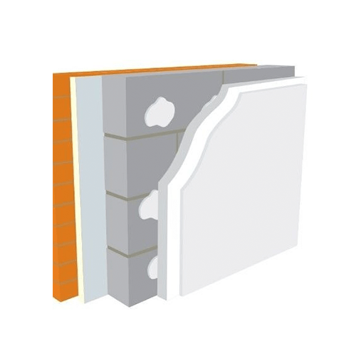 Warmline EPS Insulated Plasterboard 1.2m x 2.4m - All Sizes Loft Insulation
