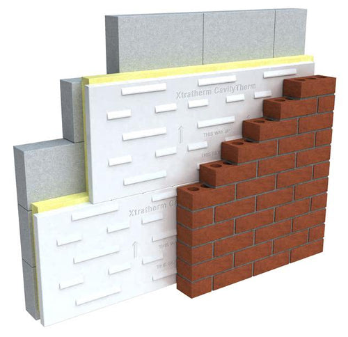 XT CT Cavity Fullfill - All Sizes Cavity wall Insulation