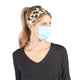 Spacedye PPE Headband - Black