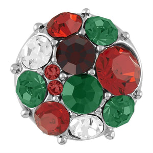 Red Green Silver