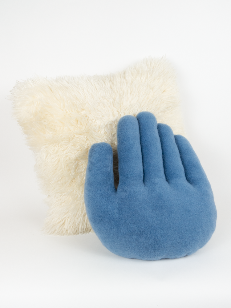 Hand Pillow - Blue
