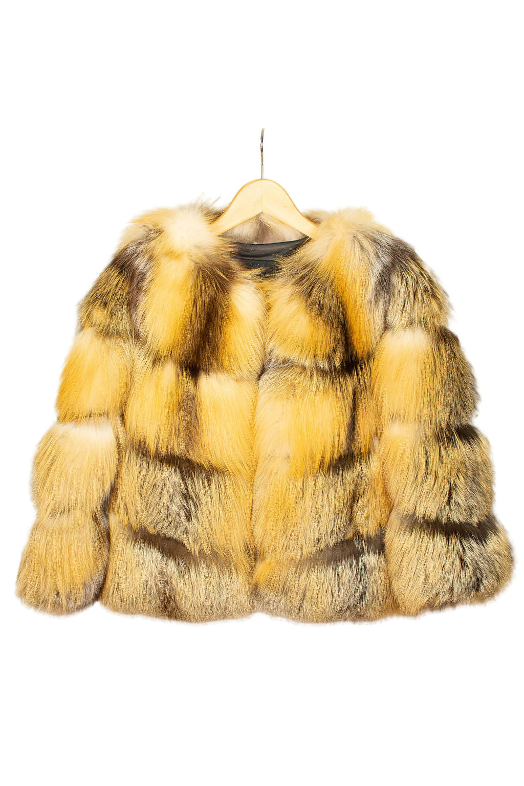 Isabella Red Fox Coat