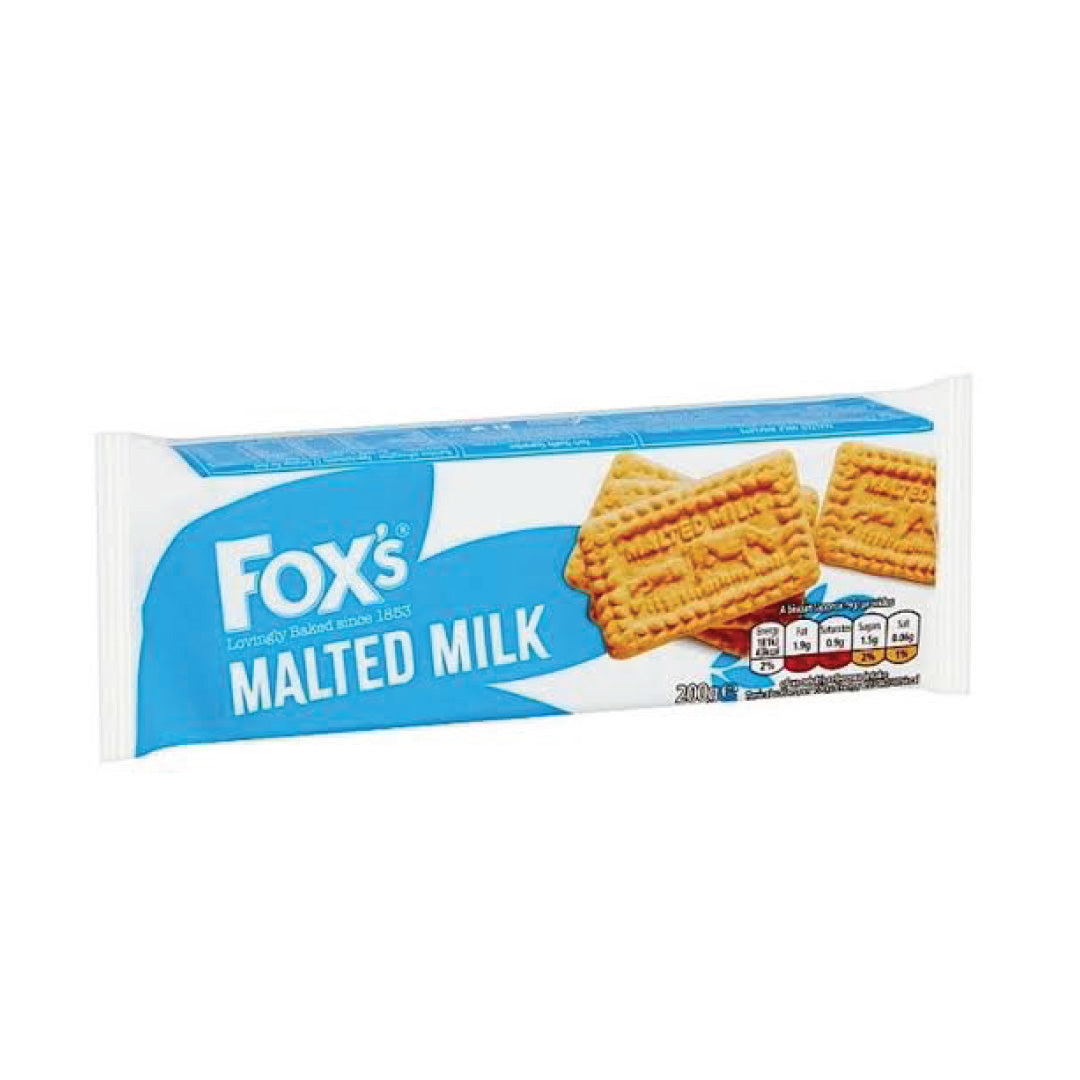 Fox's Malted Milk Biscuits