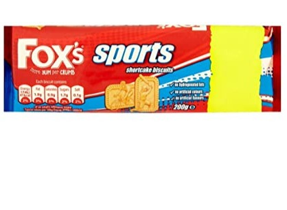 Fox's Sports Shortcake Biscuits