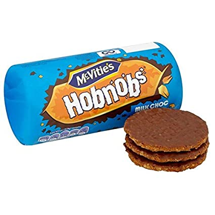 McVities Hobnobs Chocolate Biscuits