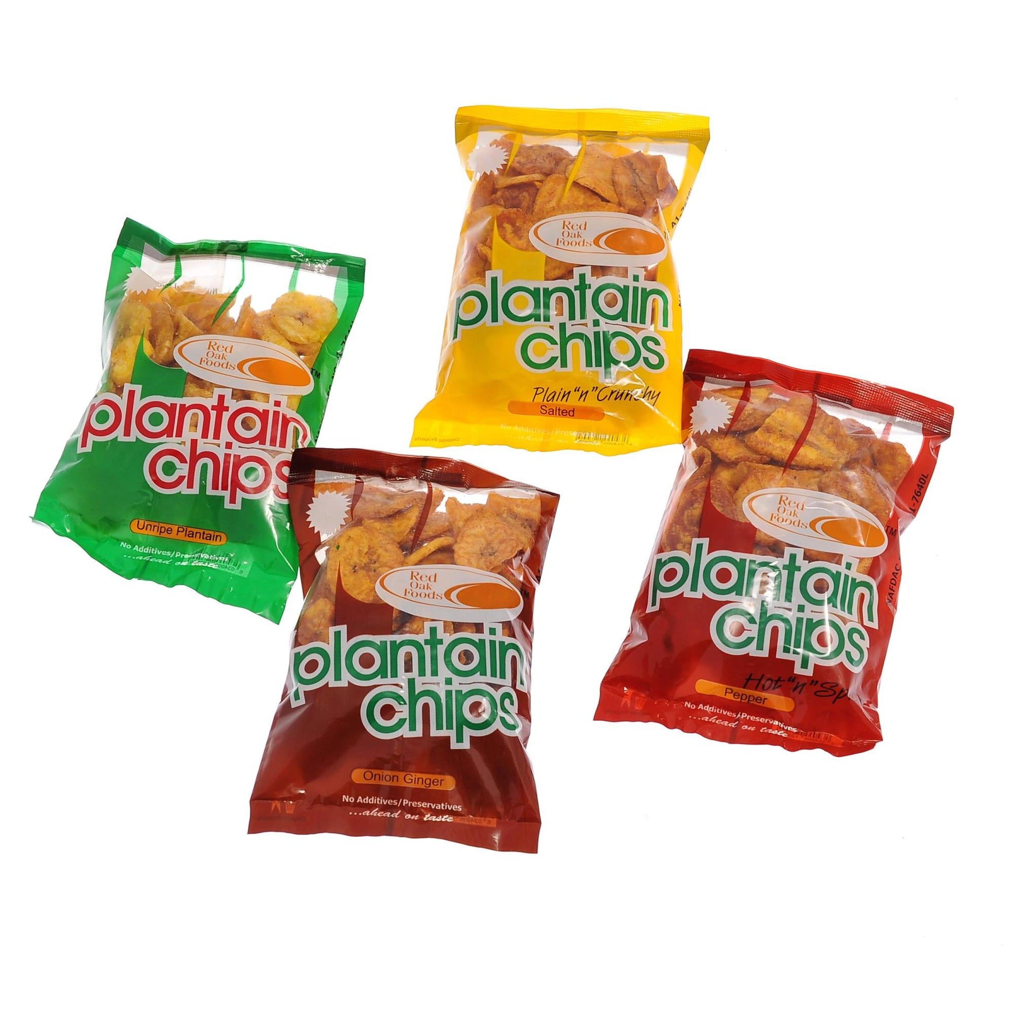 Red Oak Plantain Chips