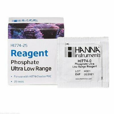 Hanna Phosphate Ultra Low Range checker Reagents