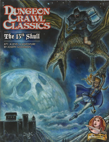 The 13th Skull - 4th level adventure - DCC