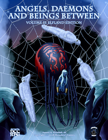 Angels, Daemons, and Beings Between - Volume 2 Elfland Edition DCC