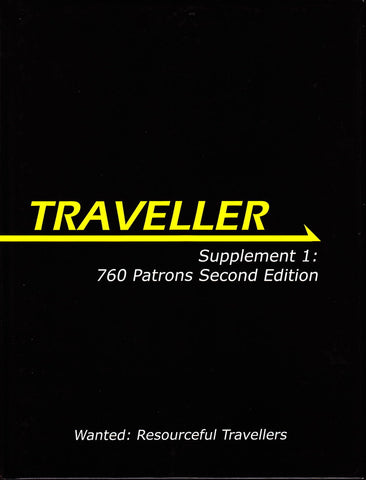 Traveller Supplement 1: 760 Patrons Second Edition