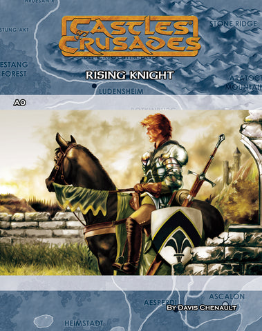 A0 Rising Knight - Castles and Crusades