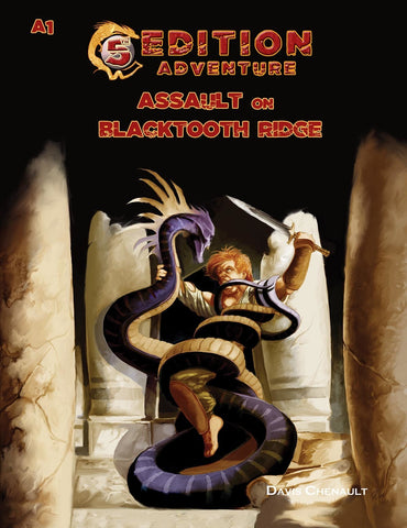A1 Assault on Blacktooth Ridge - 5th Edition Adventure - 5e