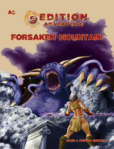 A8 Forsaken Mountain - 5th Edition Adventure