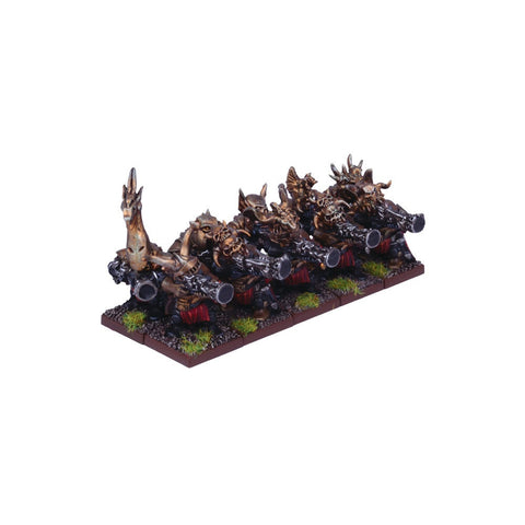 Abyssal Dwarf Decimator Troop - Kings of War